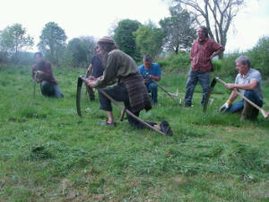 Learning to sharpen the scythe with a stone